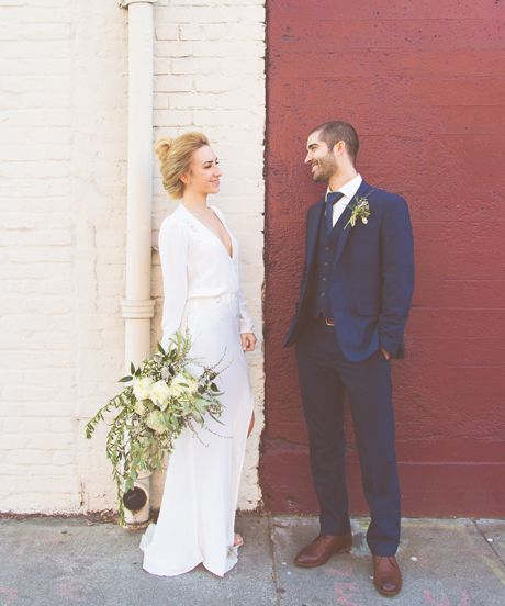 A City Hall Wedding We Can't Stop Looking At #refinery29  http://www.refinery29.com/san-francisco-city-hall-wedding