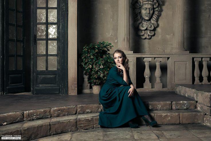woman romantic portrait