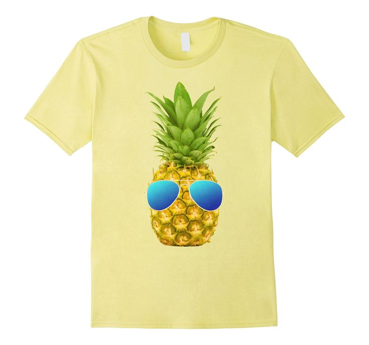 Amazon.com: Cool Pineapple With Sunglasses Summer T-Shirt: Clothing