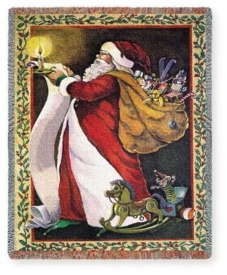 33 Best Christmas Tapestry Wall Art Amp Throw Blankets