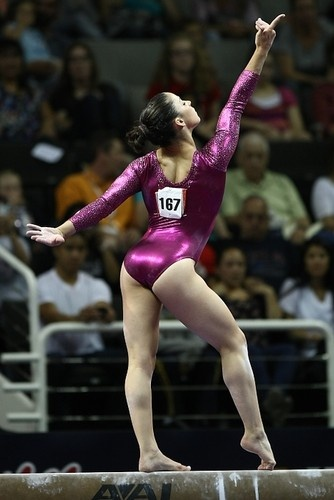 Aly Raisman. Credit: Heather Maynez