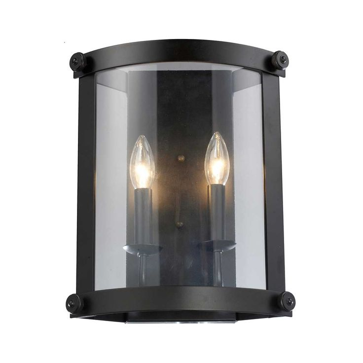 Attractive Shop For The Elk Lighting Oiled Bronze Chesapeake Two Light Ambient  Lighting Wall Sconce In Oiled Bronze Finish With Clear Glass Shade And Save. Amazing Ideas