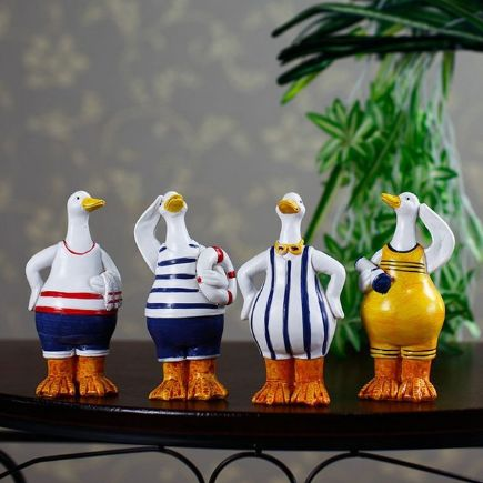 Navy Ducks Salutes America Set of 4 – PawzOutlet