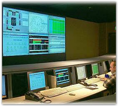 Healthcare Operations  Console and DLP Video Wall