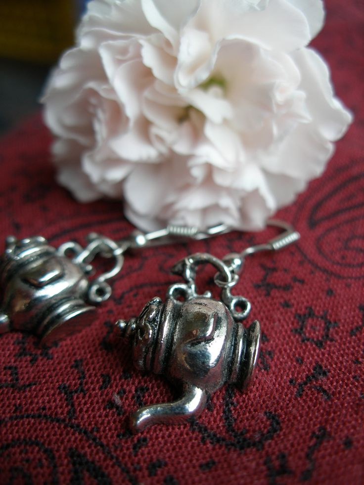 December's tea - DIY jewellery earrings