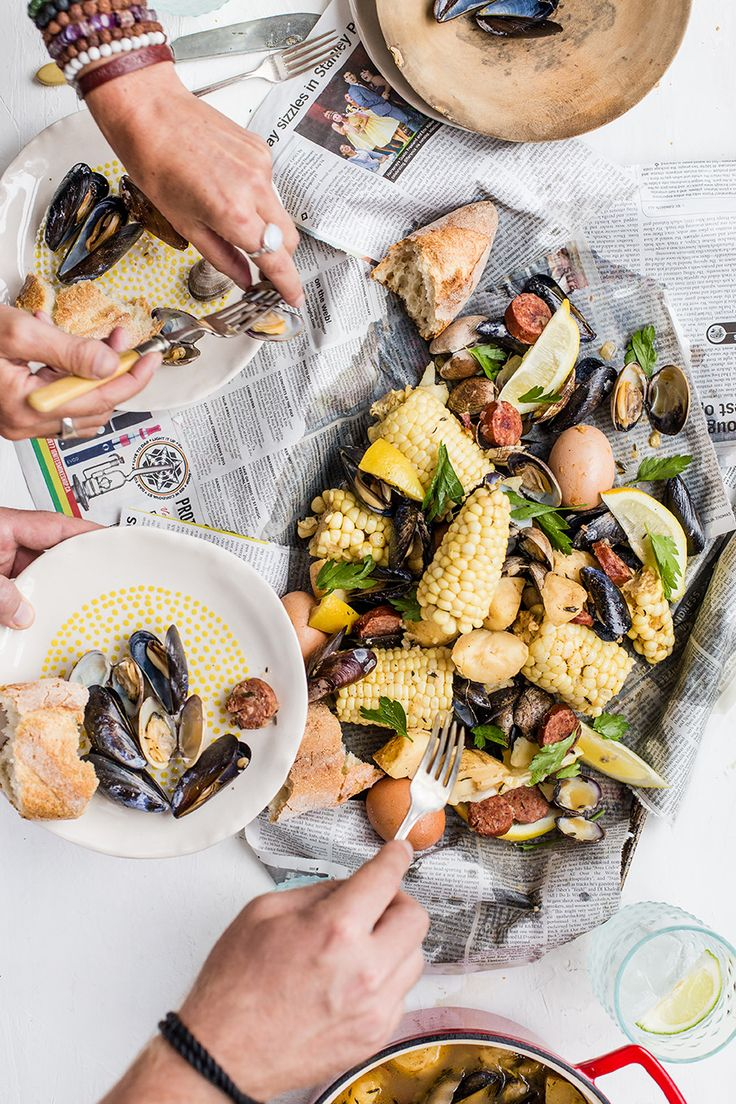 Everything you need to have a #clambake on the grill from @Luvoinc