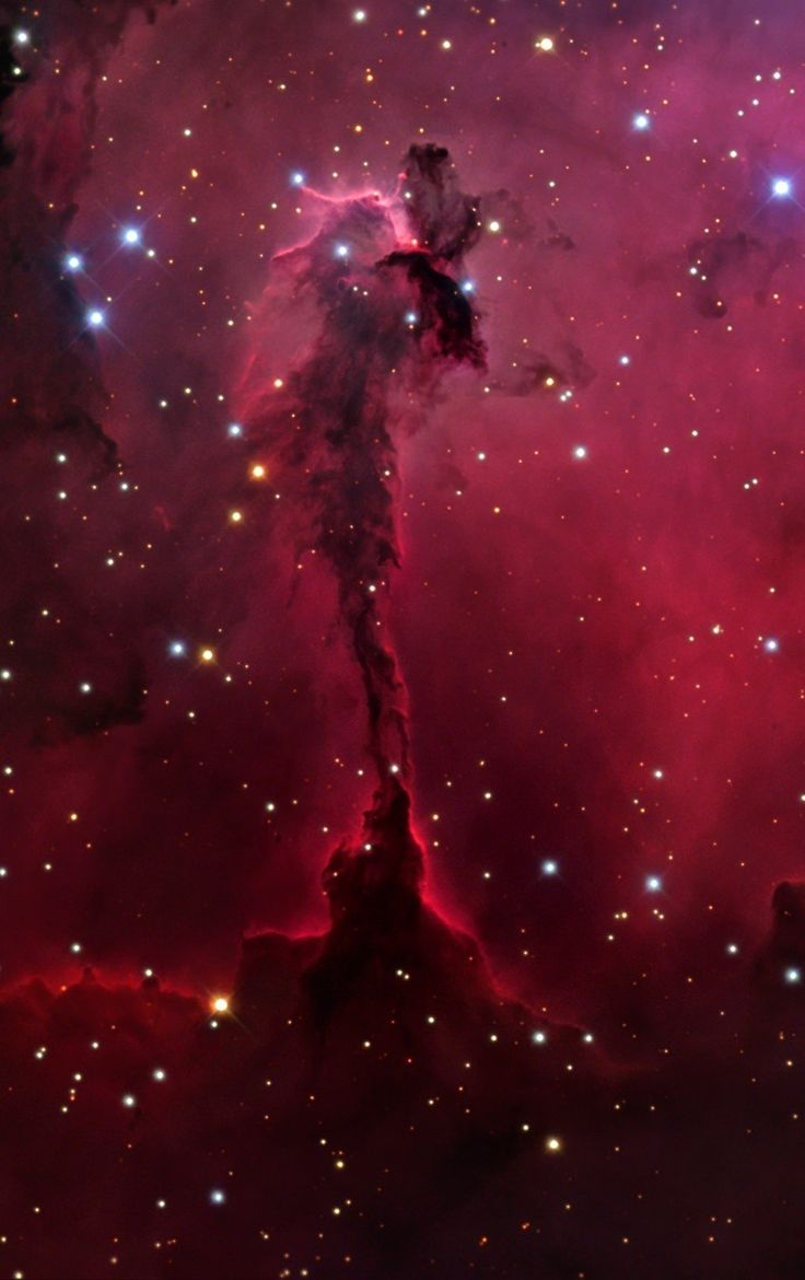 The Eagle Nebula, Northern Part in Serpens. Credit ...