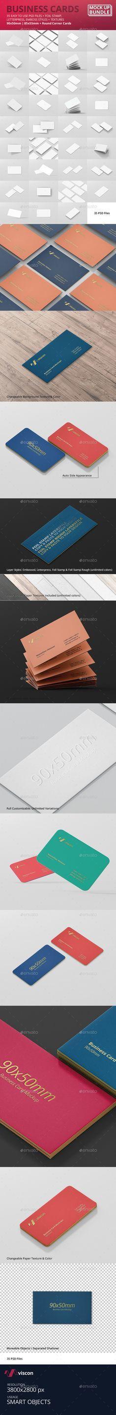 50 best package design mock up graphics images on pinterest business card mock up bundle reheart Image collections