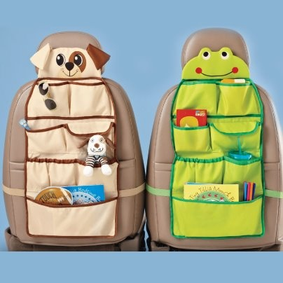 "Put the fun back into road trips with these clever pouches that will keep your little ones busy while your car stays organized. Our ""Time For Car Trip Organizer"" attaches to the back of your car seat and features a multitude of pockets for them to store their goodies. Find it in Avon's Campaign 12 Brochure with two cute characters to choose from. Contents not included. Contact your Avon representative today or visit http://www.ca.avon.com/PRSuite/locator.page?LANG_CD=en_CA to find one near…"