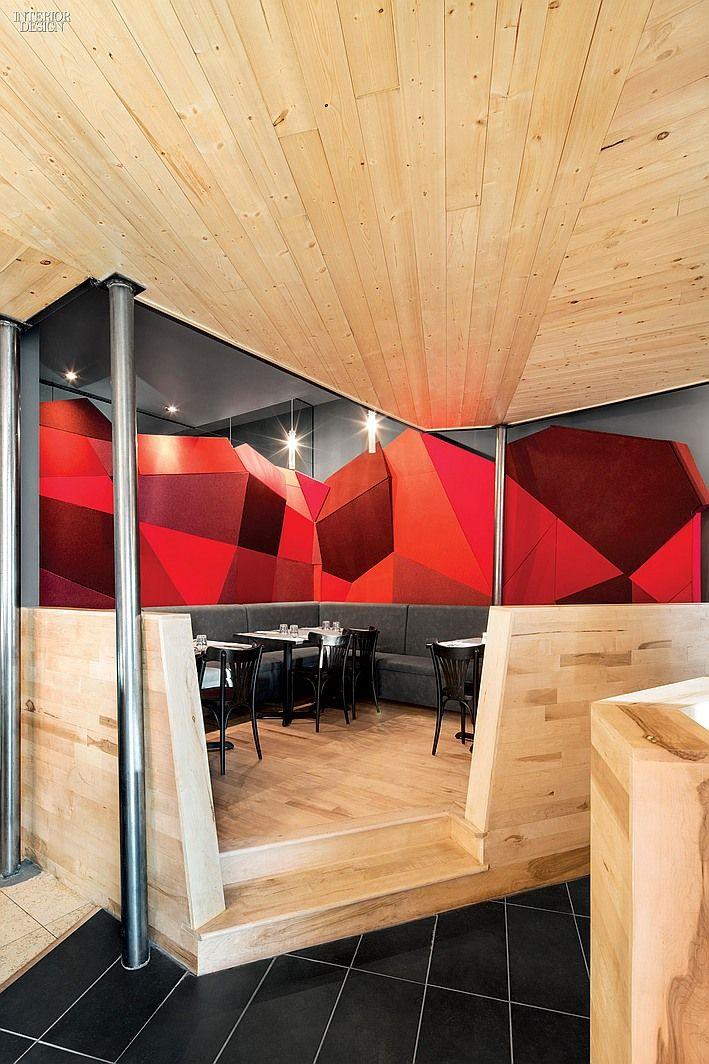 Chez Carl Tapas & BBQ Interior design magazine, Interior
