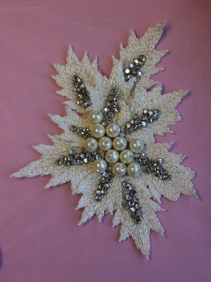 Crystal Embroidery - Laverna