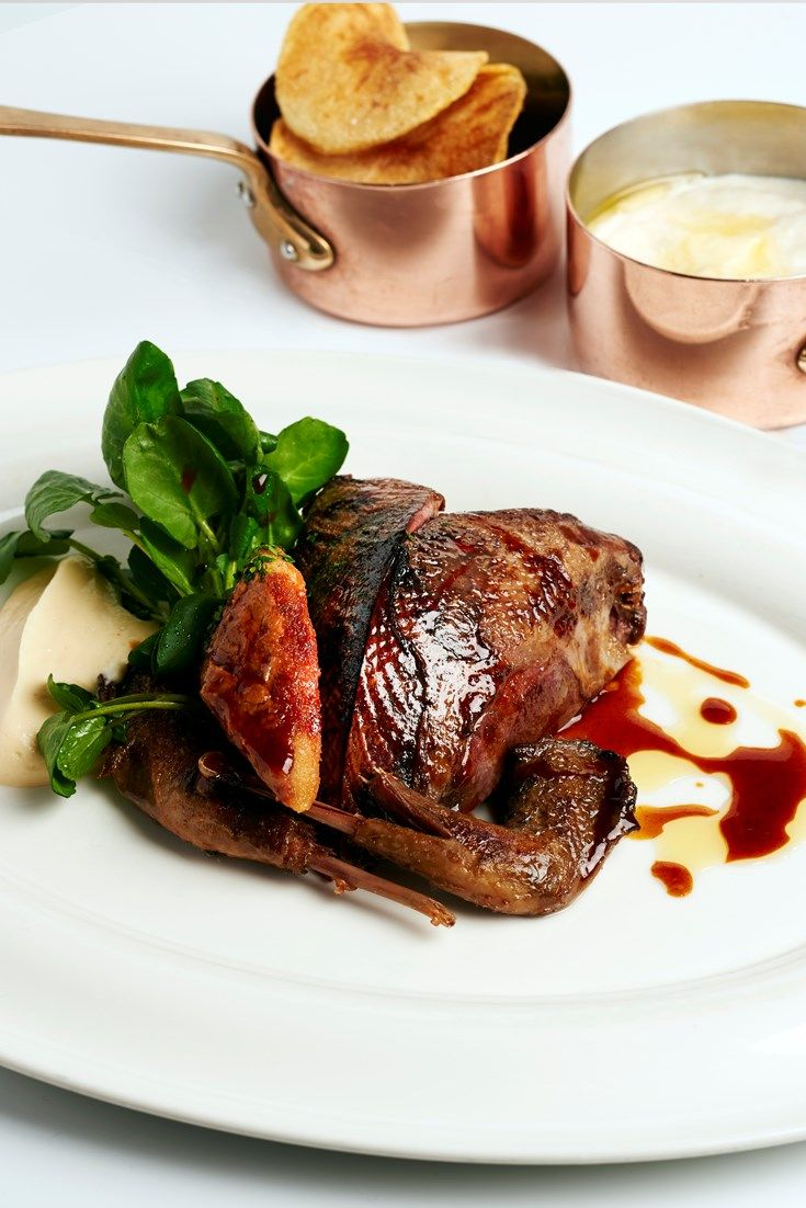 A beautifully autumnal game recipe by the Galvin brothers, with roast grouse and traditional game chips.