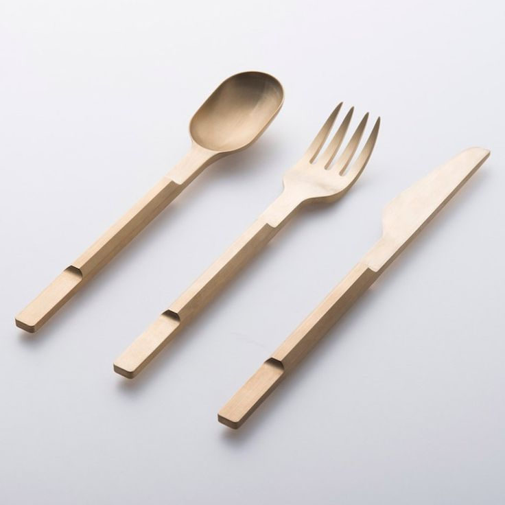 As Part Of A Series Of Cutlery Collaborations By Design Label  Valerie_objects, Maarten Baas And Koichi Futatsumata Have Created A Range  Of Eating Implements