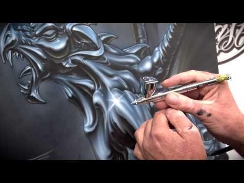 ▶ Chrome FX - How to Airbrush Chrome w/ Kiwi Terry - YouTube