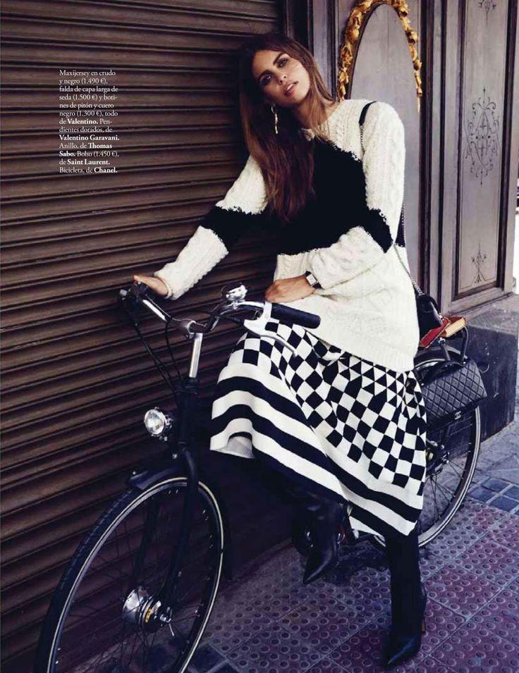 """""""La Boheme"""" Lauren Auerbach for ELLE Spain October 2015"""