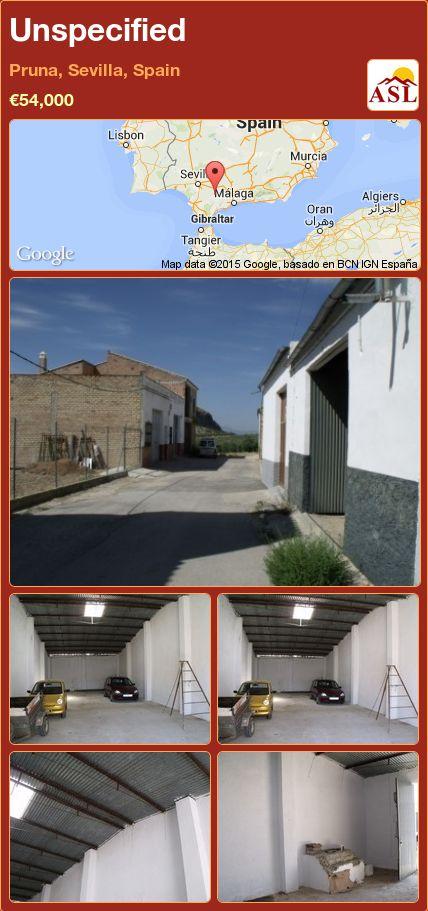 Unspecified in Pruna, Sevilla, Spain ►€54,000 #PropertyForSaleInSpain
