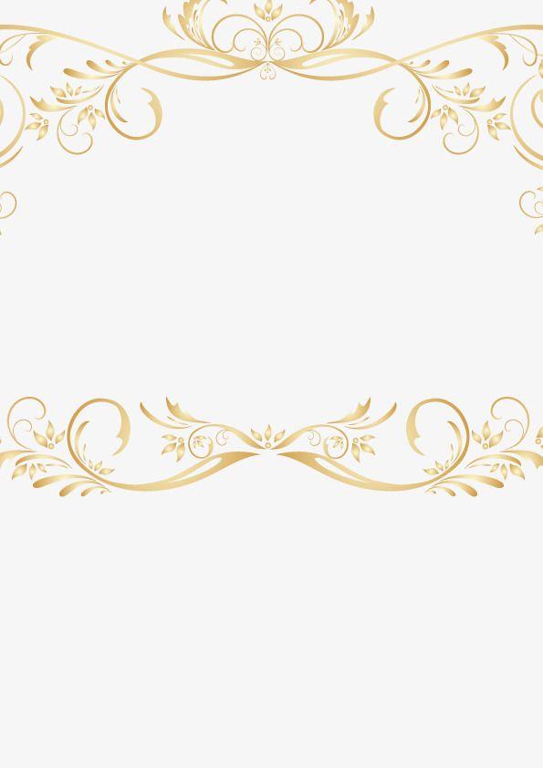 0b66198833e9 Vintage Gold Lace Border Vector