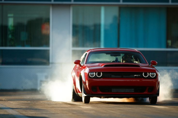 2018 Dodge Challenger SRT Demon. 840 HP, 770 torque, 9.65 @ 140 MPH qtr. 0-60: 2.3 secs. 1.8g acceleration.