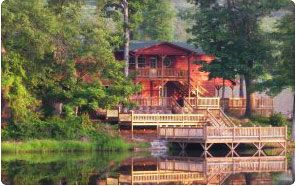 We've chosen our venue!!!!  Oklahoma Cabin Rentals at Long Lake Resort in Poteau, Oklahoma.