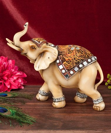 Another great find on #zulily! Light Standing Elephant Figurine #zulilyfinds