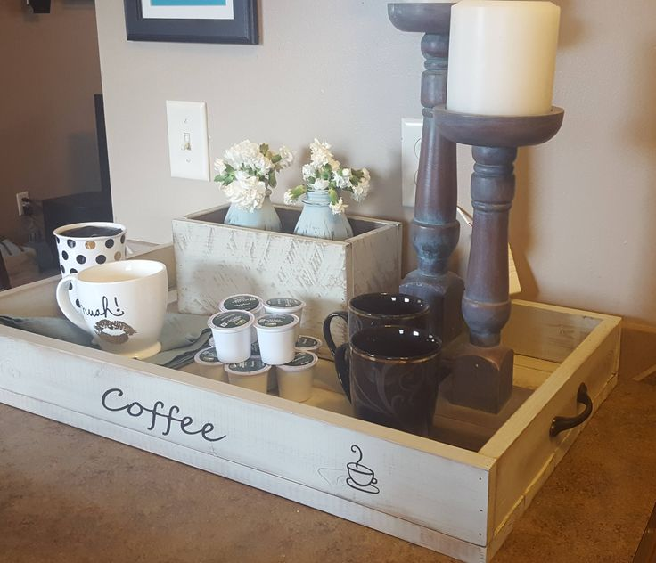 Coffee tray by CarversDesigns on Etsy