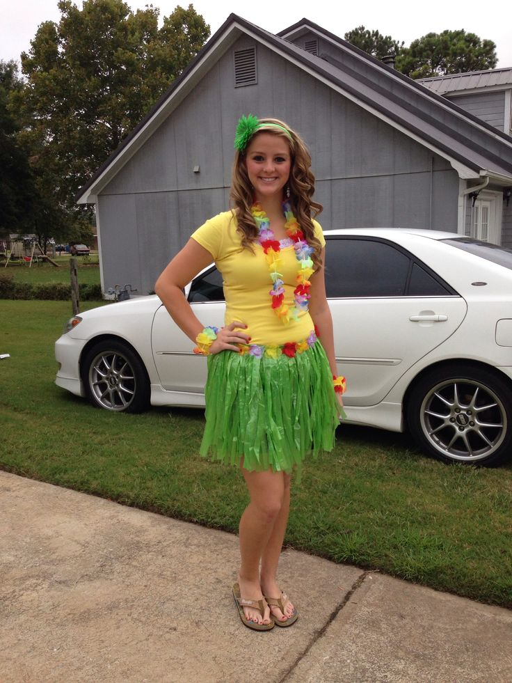 Day 2 HHS Homecoming week !! Hawaiian Day