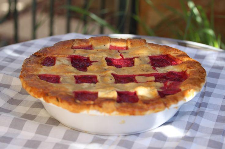 Rhuberry Pie #thermomix #recipe