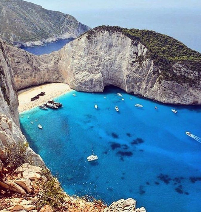 Navagio Beach Zakinthos Greece Photograph By Queroviajarmais Natgeography