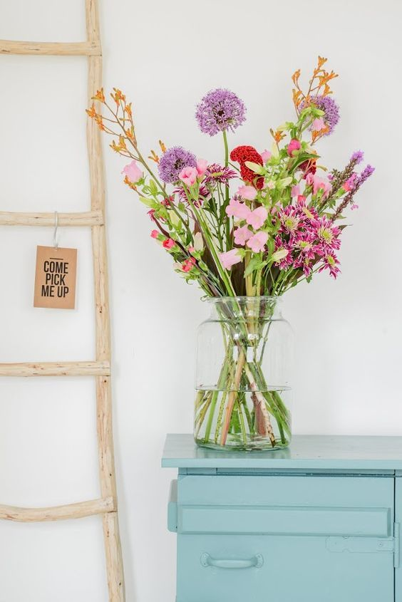Bloomon grote vaas bloemen interieur blog miinto.nl