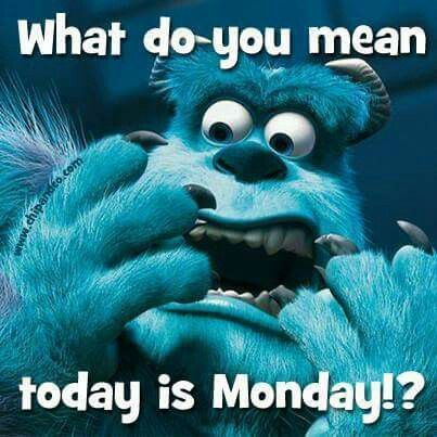 What Do You Mean Today Is Monday Monday Good Morning Monday Quotes Good  Morning Quotes Happy Monday Funny Monday Quotes Monday Quote Happy Monday  Quotes ...