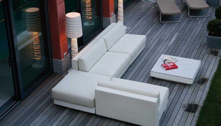 Lounge Garnitur DIVANO ONE von SERRALUNGA versch. Farben u. Ausführungen kaufen im borono Online Shop