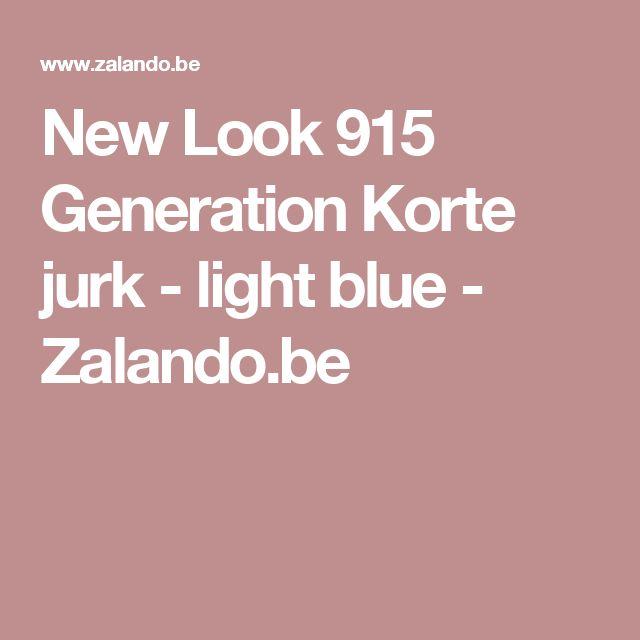New Look 915 Generation Korte jurk - light blue - Zalando.be