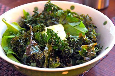 Little Bit of Everything: Roasted Kale and Arugula Salad