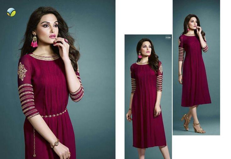 eid clothes Salwar Kurta Kurti Designer Ethnic Dress Top Tunic P VK 33280.