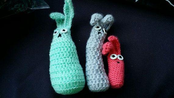 Paas konijntjes setje van 4 van Madeforeveryone op Etsy, €14.99