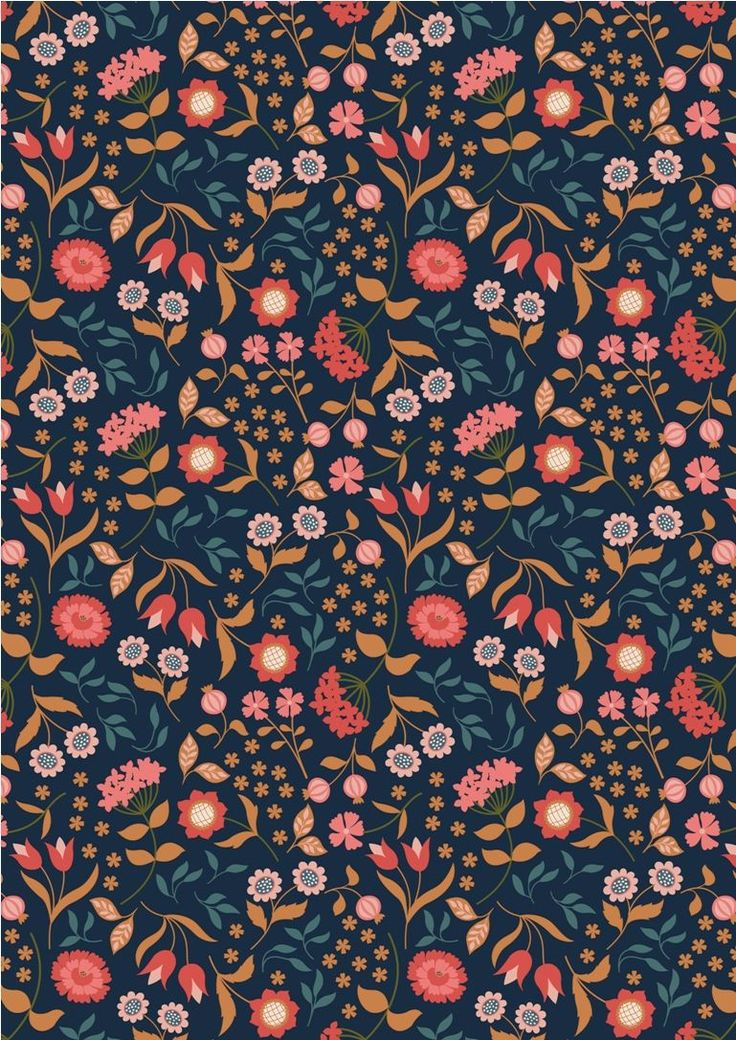 A241.3 - Country House Floral On Darkest Blue Inspired by the opulence of a grand country house not too far away from us, this sumptuous collection from Lewis and Irene has metallic elements in copper and gold. 100% cotton and of the usual outstanding quality we have come to expect from Lewis and Irene, Chieveley brings you flowers, peacocks and feathers on beautiful backgrounds. Chieveley is also the neighbouring village to our own and so this fabric is partcularly relevant to Juberry…