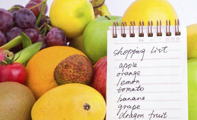 lista de la compra sana http://enforma.hola.com/nutricion/20140630357/lista-compra-sana/