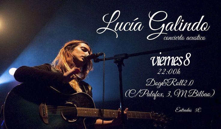 Hoy el plan es concierto en Madrid de Lucía Galindo