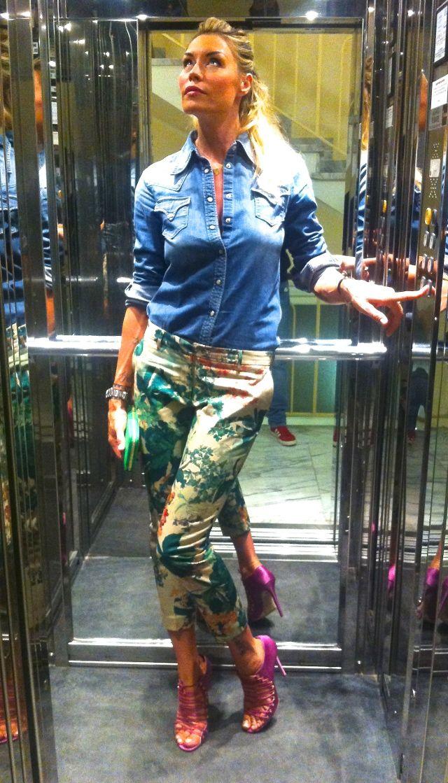 Elenoire Casalegno ... Love Blumarine shoes <3