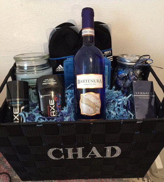Mens Gift Basket Gifts Pinterest Gift Basket