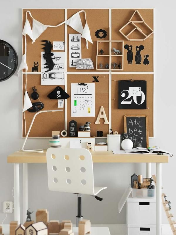 17 mejores ideas sobre pared de corcho en pinterest - Ikea decoracion paredes ...