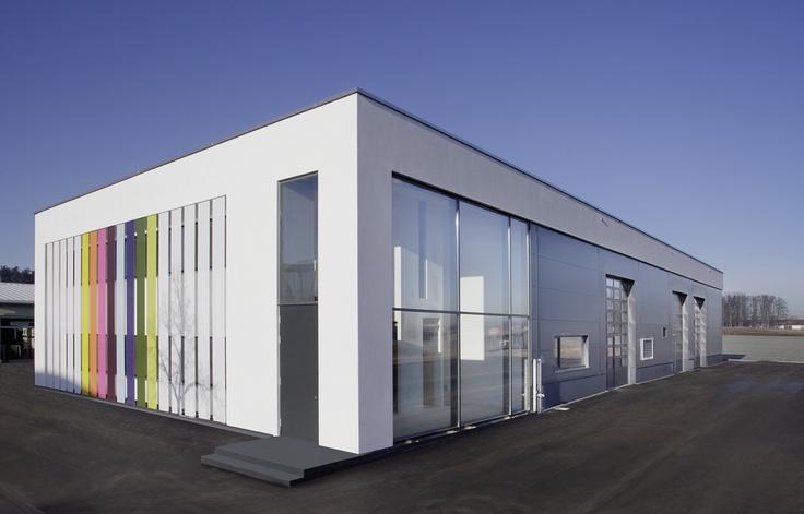 Berschneider + Berschneider, Architekten BDA + Innenarchitekten, Neumarkt: Neubau Halle Malerbetrieb (2011)