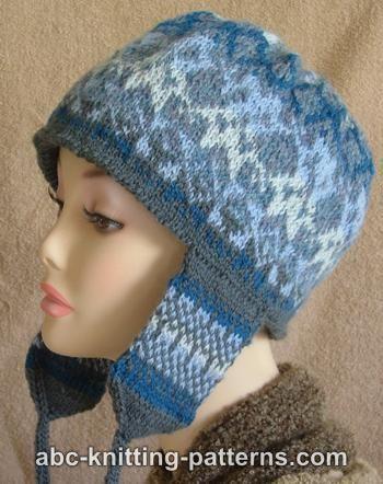 Fair Isle Earflap Hat
