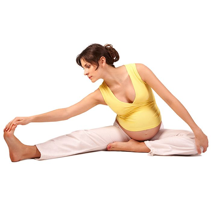 Do these stretches for pregnancy exercise in the third trimester to alleviate the symptoms of pregnancy.