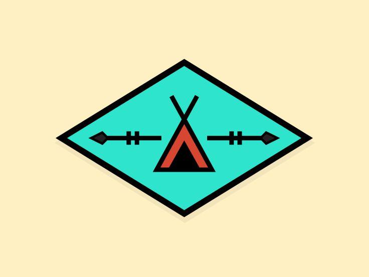 Teepee Badge