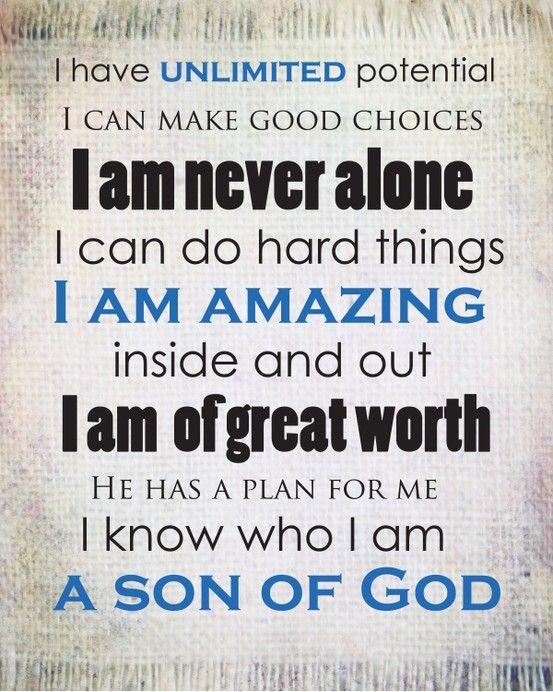 Son of God printable for the boys.