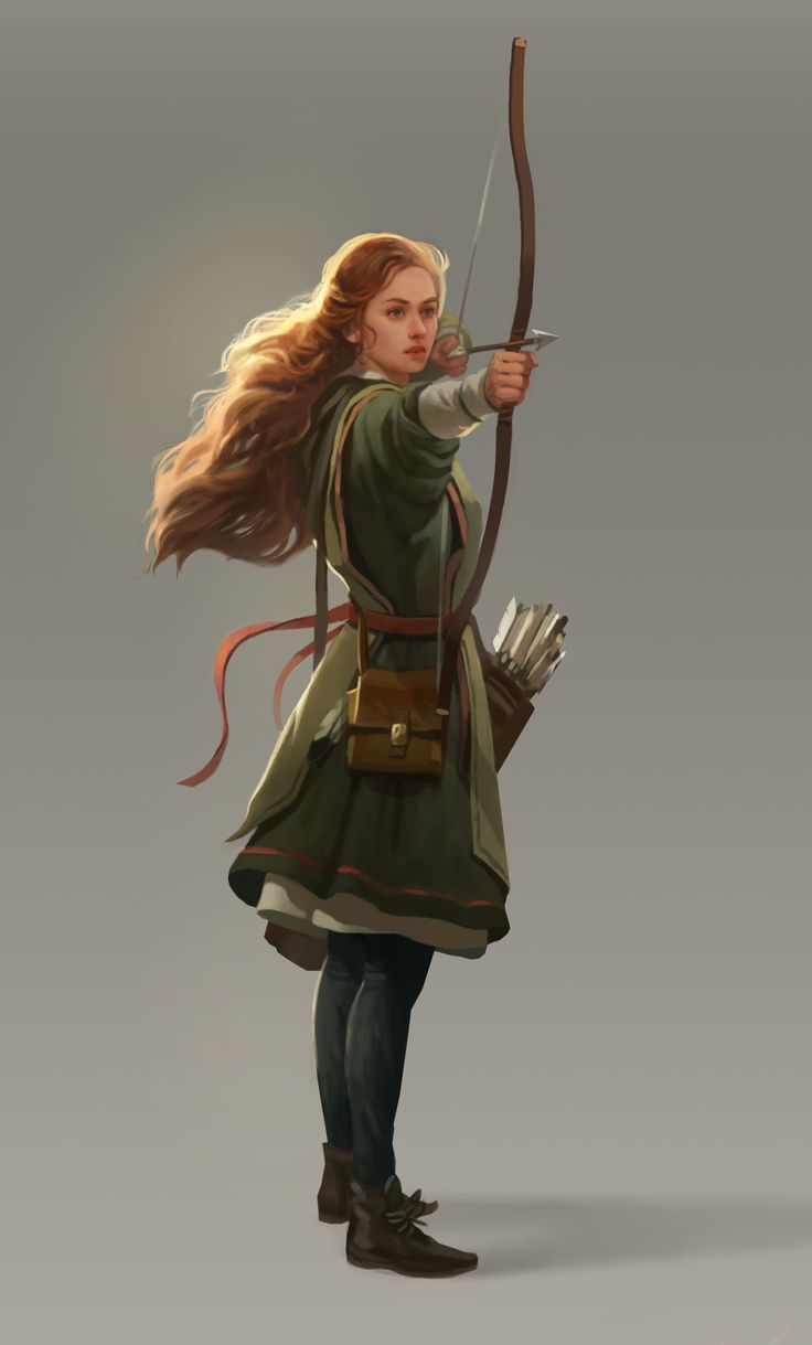 Archer2 by Kseniya Sibileva on ArtStation.