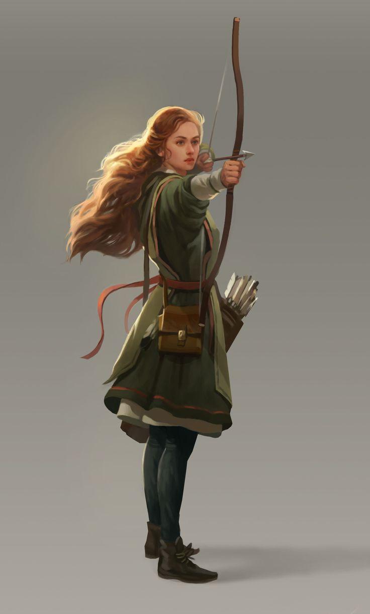 ArtStation - Archer2, Kseniya Sibileva