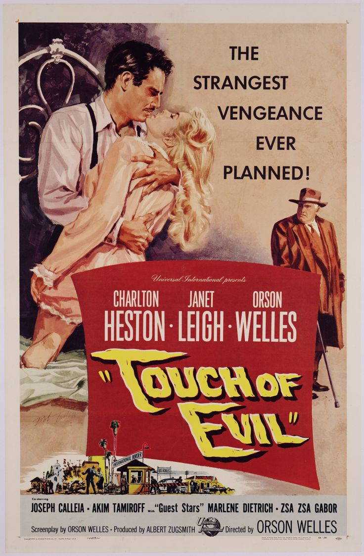 Poster design 1950 - Touch Of Class Five Dazzling 1950s Posters For Touch Of Evil Bfi