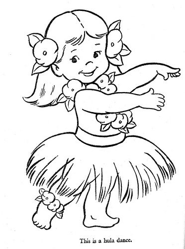 Being a real hula dancer that is not how you dance and she is doing hula she does not need a teassion skirt on she needs a lava lava